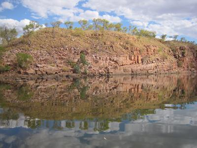 Reflections in Chamberlain Gorge