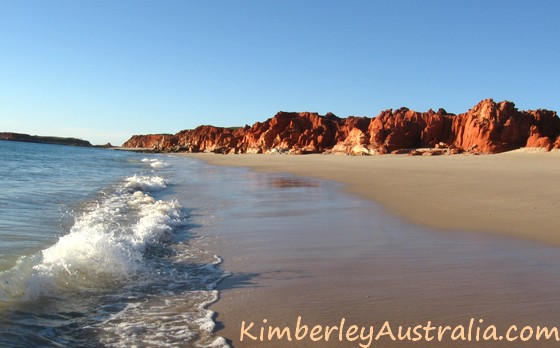 Western Beach at Kooljaman Resort, Cape Leveque