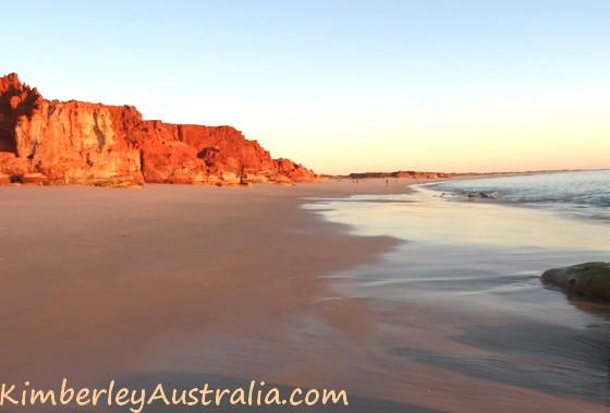 Sunset on the Western Beach