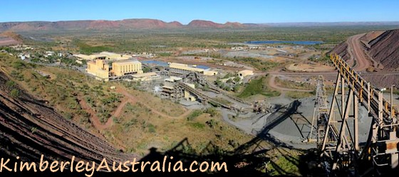 View over Argyle Diamond Mine