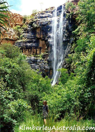 Black Rock Waterfall near Kununurra
