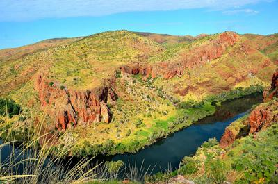 Ord River near Lake Argyle