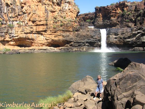 Endpoint of the Mitchell Falls hike