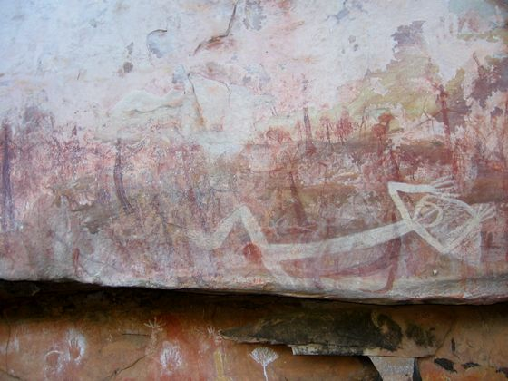 Little Mertens rock art 1