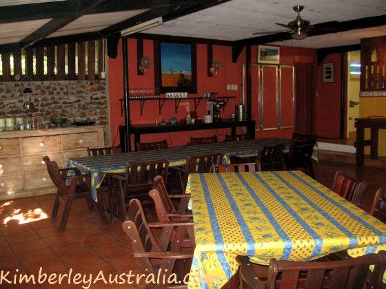 Mt. Hart Homestead dining room