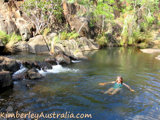 Swimming at Mt. Matthew Gorge