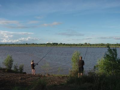 Fishing on the Pentecost