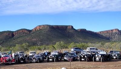 The Bentleys below the Cockburn Range