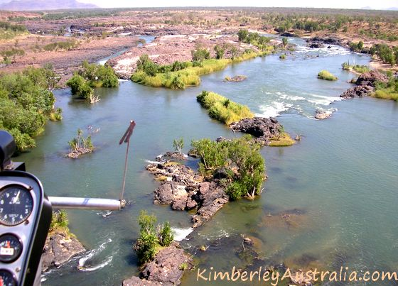 Rocky section of Ord River