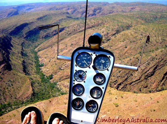 Flying over the Deception Range
