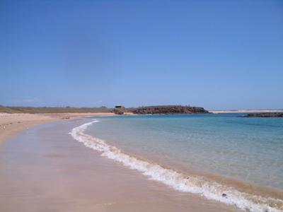 Back Beach at Middle Lagoon