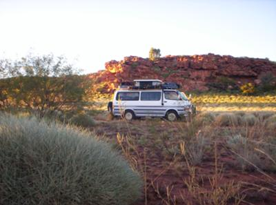 Supervan in the Wilderness