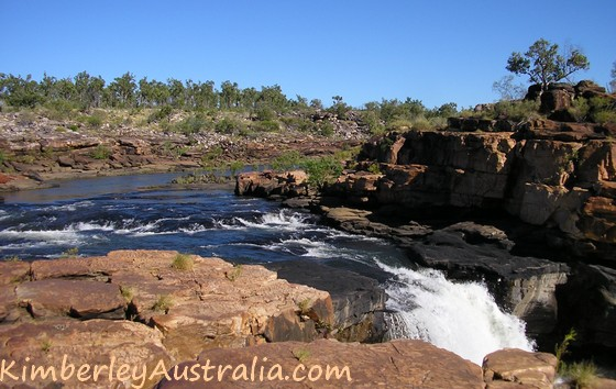 Mitchell Falls River crossing