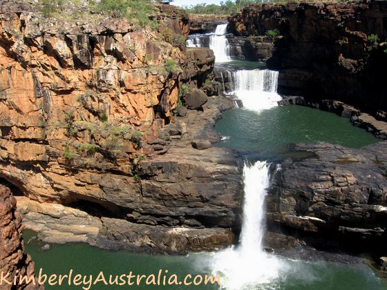 The Mitchell Falls from the lookout
