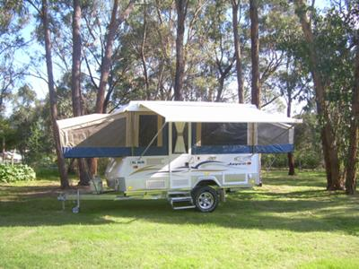 The Jayco off-road caravan