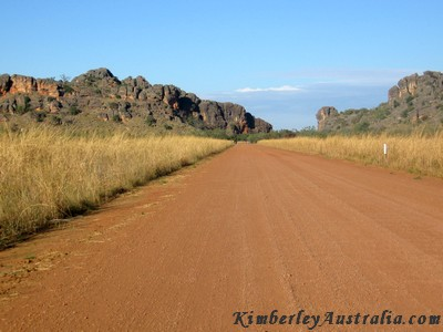 Western end of the Gibb River Road: Inglis Gap