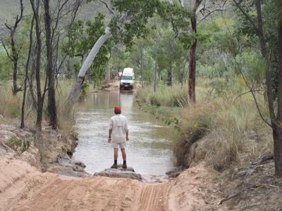 Creek crossing on way to El Questro Gorge