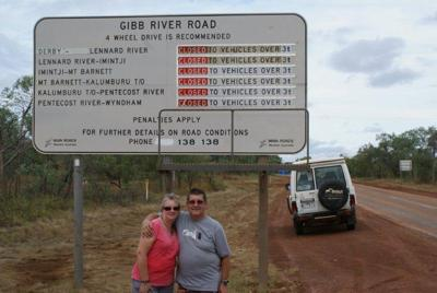 Start of Gibb River Road
