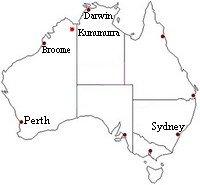 Overview Map of Kununurra