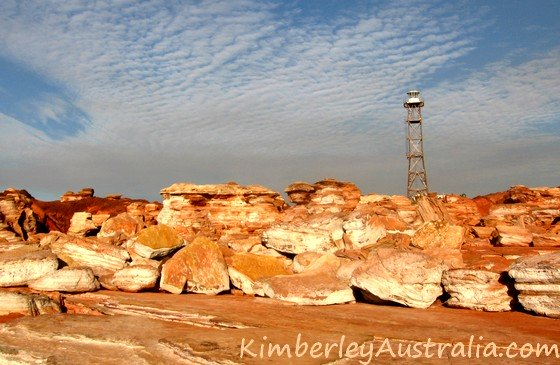 Gantheaume Point with lighthouse