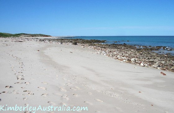 One of Broome's Northern Beaches