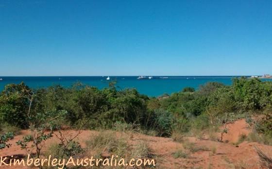 The WA coast south of Broome