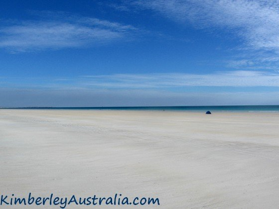 The world famous Cable Beach in Broome, Western Australia.