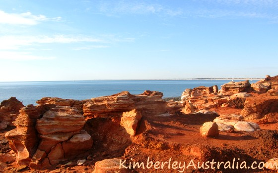 Red cliffs at Broome
