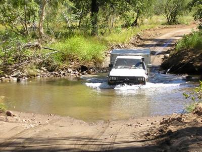 Track into the Bungle Bungle