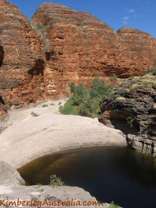 Rock pool in the Bungles