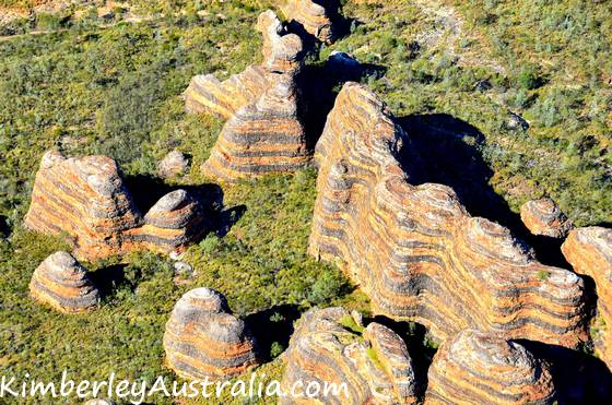 The Bungles seen from the air