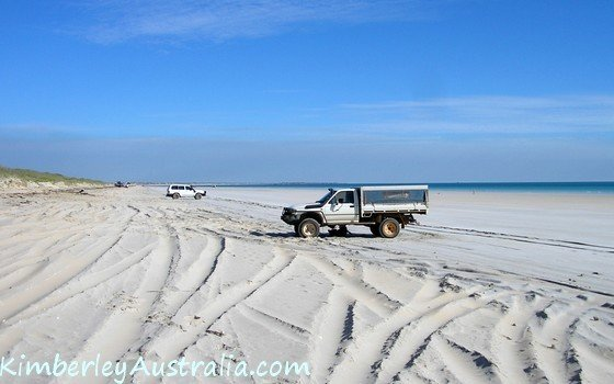 My car on Cable Beach