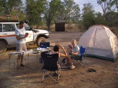 Camping in Bungles NP