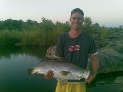 Finally a dry season barra