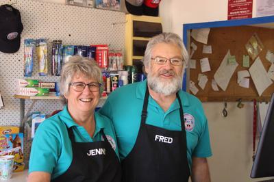 Fred & Jenny at Imintji