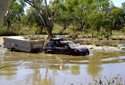 Creek crossing on the way into the Bungle Bungles