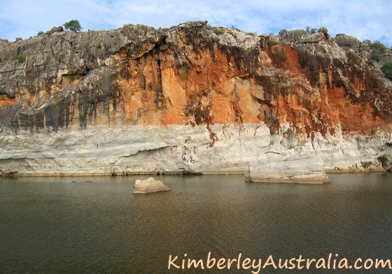 Boat tour at Geikie Gorge National Park
