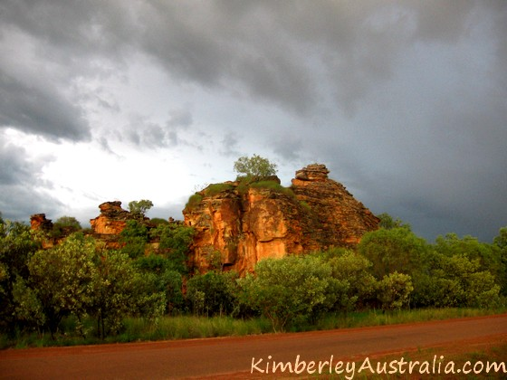Kimberley picture wet season
