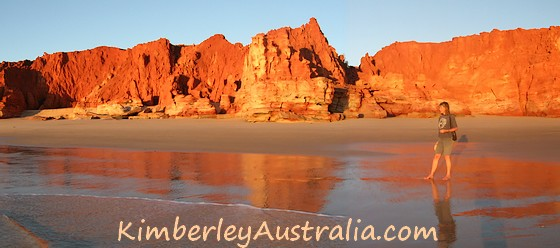 Sunset on the Western Beach 2