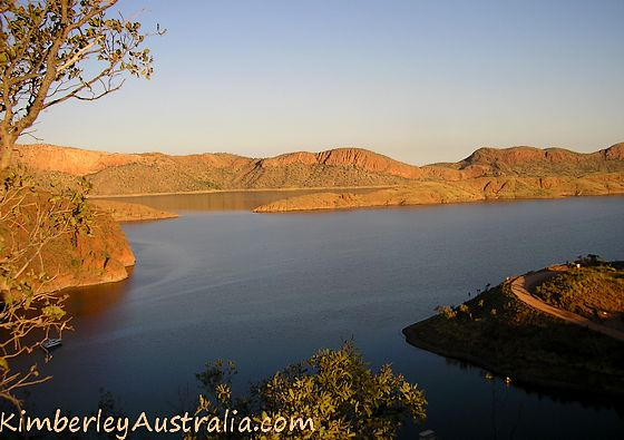 Lake Argyle Lookout
