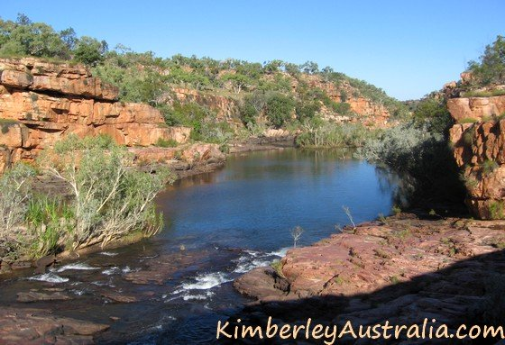 View into Manning Gorge