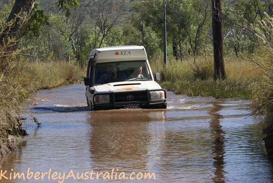 Water on the Mitchell Plateau Track