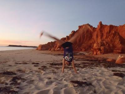Sunset on the Cliffs of Cape Leveque