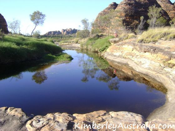A pool in Purnululu